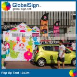 Shanghai GlobalSign Stable and Hight Quality outdoor folding tent                                                                                                         Supplier's Choice