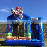 2016 super mario inflatable bouncy castle,cheap inflatable super mario bounce houses for children