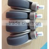 caster for infusion support, mini hospital casters, mini casters for furniture