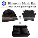 Winter Promotional Bluetooth Gloves/Speakers with Touch Screen Finger for Christmas gift
