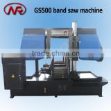 GS500 panel saw machine fully automatic metal cutting saw pipe profile cutting machine