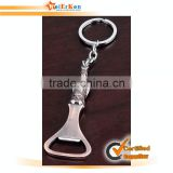 Customized souvenir metal beer bottle opener keychain