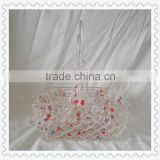 promotional handmade square wholesale wire baskets gift baskets