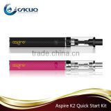 Aspire K2 Quick starter kit 100% Original Aspire K2/ K3/ K4 vape pen stareter kit stock offer form CACUQ