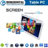 Cheap high quality 13.3 inch 3G phone touch tablet with sim card