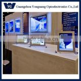 YG Crystal slim LED light box, Single side LED crystal lightbox, Indoor wall hanging LED lightbox