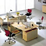wooden MDF office desk set office table and chair                                                                         Quality Choice
