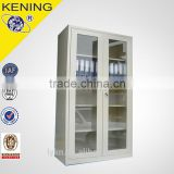 2016 KeNing Glass door locker cupboard cabinet grate to use at shop office retail display