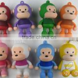 PVC Monkey USB for Computers Pendrive 8GB Cartoon USB flash drives