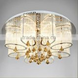 zhongshan LED crystal pendant lamp hotel chandelier light                                                                         Quality Choice