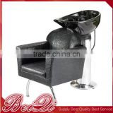 hair salon equipment shampoo bed barber chair electric movable footrest used shampoo chair beauty salon shampoo chair