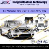 C63 AMG body kit W204 body kit for mercedes benz c180 c260