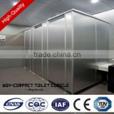 Cheap wooden toilet partition/school furniture toilet partition/public sued toilet partition