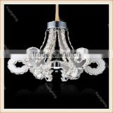 Zhongshan wholesale lustre crystal ceiling chandelier, celling pendant lighting with precision-cut crystal prisms