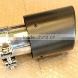 Carbon fibre exhaust tail pipe/carbon muffler pipe