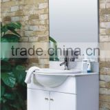 Ceramic Top Cabinet with Mirror Medicine Cabinet Storage Hanging MDF Modern Bathroom Cabinet