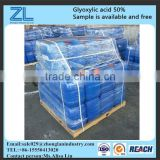 medical intermediate glyoxylic acid 50%