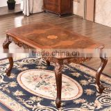 Strong and durable quality malaysia noble style wood dining table