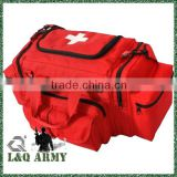 Red Tactical First Aid Emergency Medical Kit Concealed Carry Bag