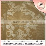 Wholesale beautiful gold color damask jacquard fabric