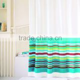 hotel Polyester bright Textile curtain shower