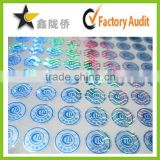 High quality customized hologram sticker anti radar number sticker