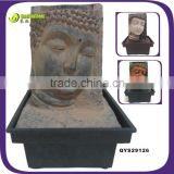 In Stock !Cheap!Resin fake stone mini tabletop budda water fountain