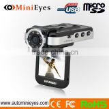 2.0 inch HD screen night vision 1080P with G-sensor SOS button night vision automobile camera