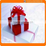 2015 New design popular red festive high-profile packing box