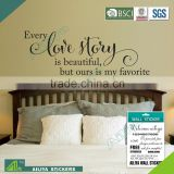 Wholesale New Arrive Fashion Design eco-friendly islamic and arabic title sale wall stickers
