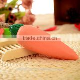 Mendior Thai plant Carrot shaped handmade soap with rope hand face soap Carotene whitening anti-allergy OEM custom brand
