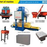 Advanced design concrere floor tile making machine price/Ceramic floor tile manufacturer paving floor tile making machine