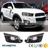 LED Daytime Running Lights Car DRL Fog Lamp For Chevrolet Captiva 2014 2015 2016                                                                         Quality Choice