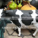 The hot-selling life size cow statue