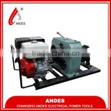 Andes gasoline powered winch,high speed winch