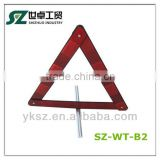Car triangle warning signs Auto breakdown sign Auto reflective traffic triangle car emergency tool folding war
