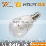 Professional Manufacturer B45HAP 4w 5w 6w Zhejiang Ningbo factory LED bulb flower bulb CE ROHS approved