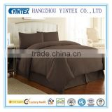 High quality100% cotton sheet set/Organic bamboo bedding set