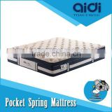 Queen Size Cooling Visco Gel Memory Foam 5-Zone Pocket Spring Hotel Mattress OMB-FB38