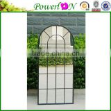 Discounted Unique Design Wrought Iron Round Frame Full Length Mirror For Home Indoor and Outdoor J16M TS05 X11 PL08-80230