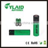 Genuine battery vs lg he4 high discharge 2500mA 35a 3.7v 18650 battery operated led lighting