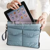 Men Women Travel Business Laptop Storage Bag Portable Tablet PC Organizer Solid Collection Bags