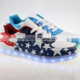 2016 New Style Led Shoes High Top