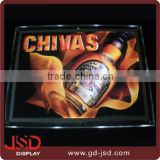 China supplier Acrylic Photo Frame LED Crystal light box Frameless LED Crystal Light Frame