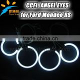 White red blue green yellow orange purple halo ring car headlight replacement CCFL angel eyes for Modeo RS