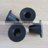 black rubber plunger seal