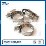 Stainless steel single ring hose clamp manufacturer