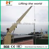 Light Load Marine Deck Crane With Hydraulic System