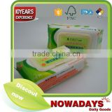 Wholesale baby disposable 80 pcs wet wipes with lid for baby cleaning