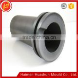 Free Shipping high pure graphite crucible,GH560 Graphite earthen pot for melting gold, carbon crucible